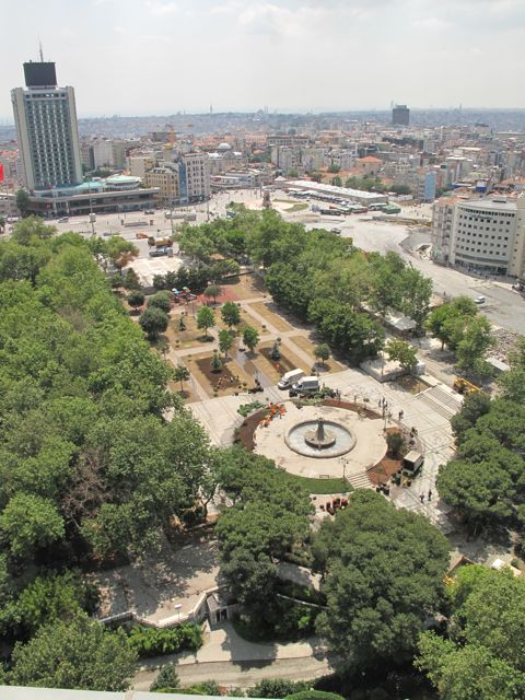 Gezi Park and Taksim Square, back under government control