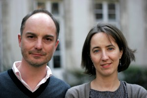 Guillaume Perrier and Laure Marchand