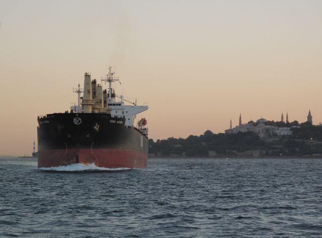 Bosporus tanker