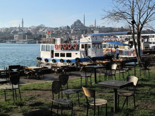 Chairs by Golden Horn