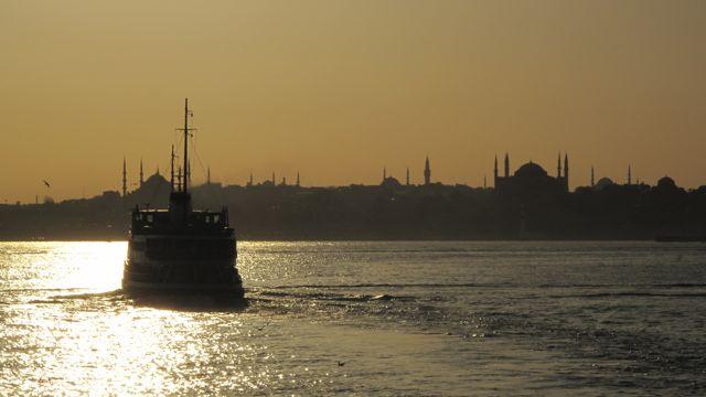 ferry and bosporus