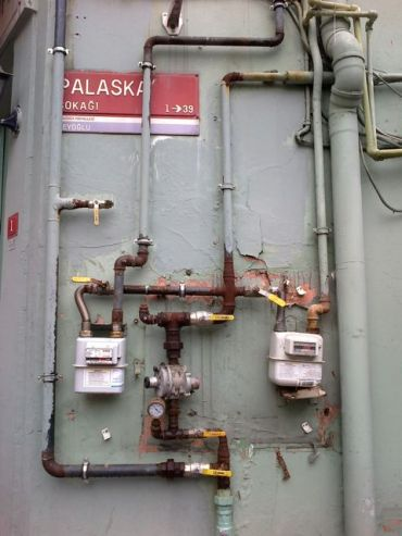 Istanbul gas meters