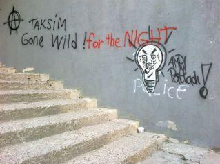 Taksim wild for the night