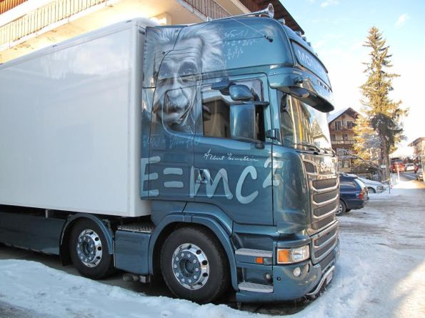 truck davos