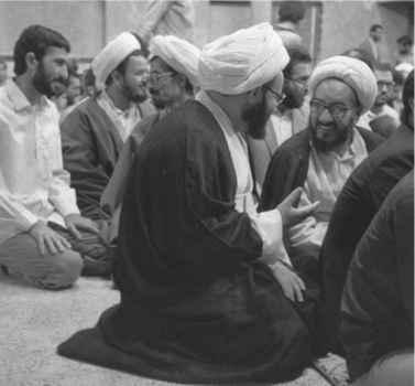 Mullahs chatting